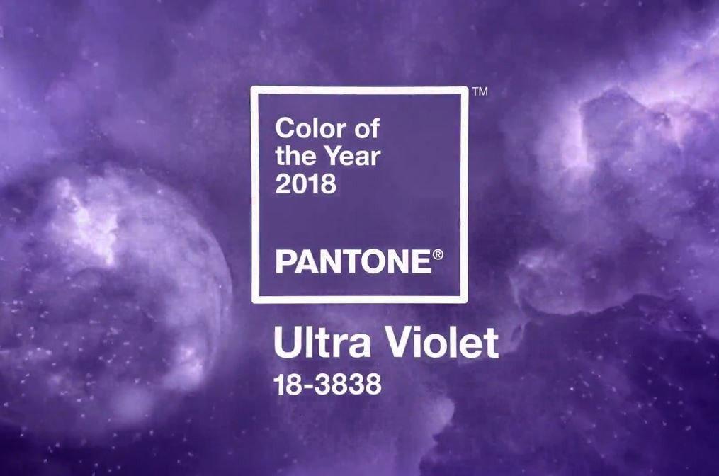 """Màu sắc của năm 2018 – thế giới nhuộm màu """"tím vô cực"""""""