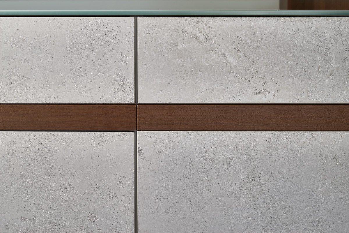 Tủ bếp Topos concrete 2