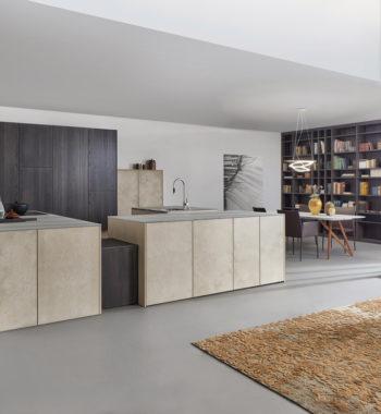Tủ bếp Topos stone