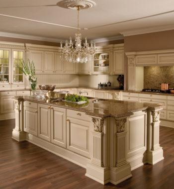 Tủ bếp Versailles de luxe