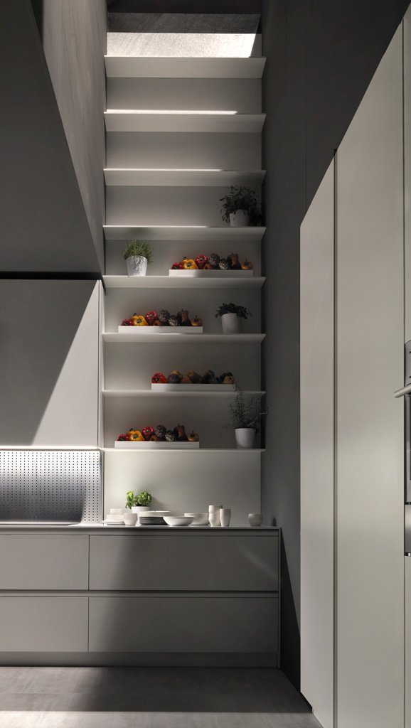Tủ bếp Bluna
