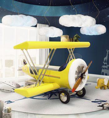 Giường Sky B Plane Kids