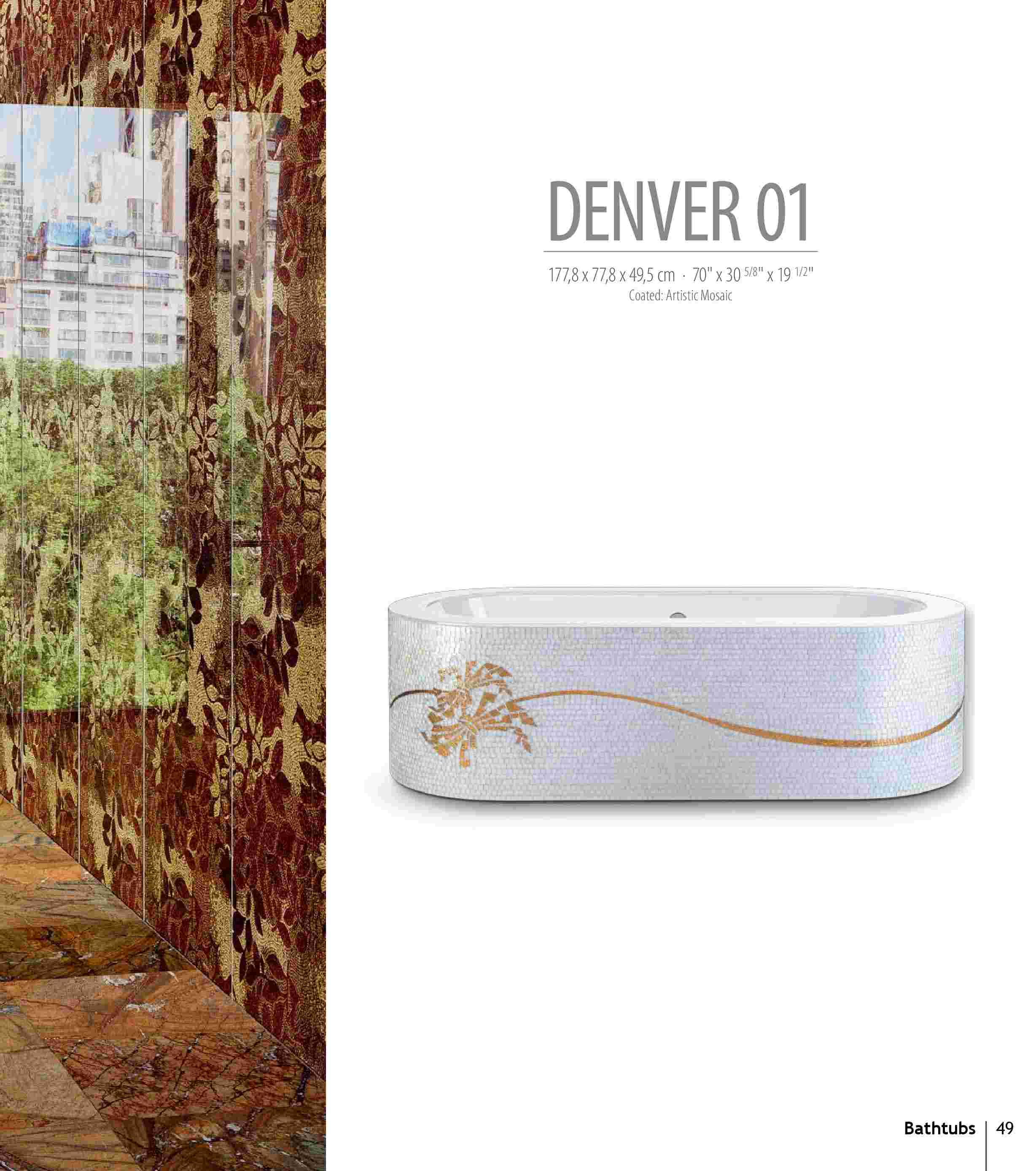 Bồn tắm Denver