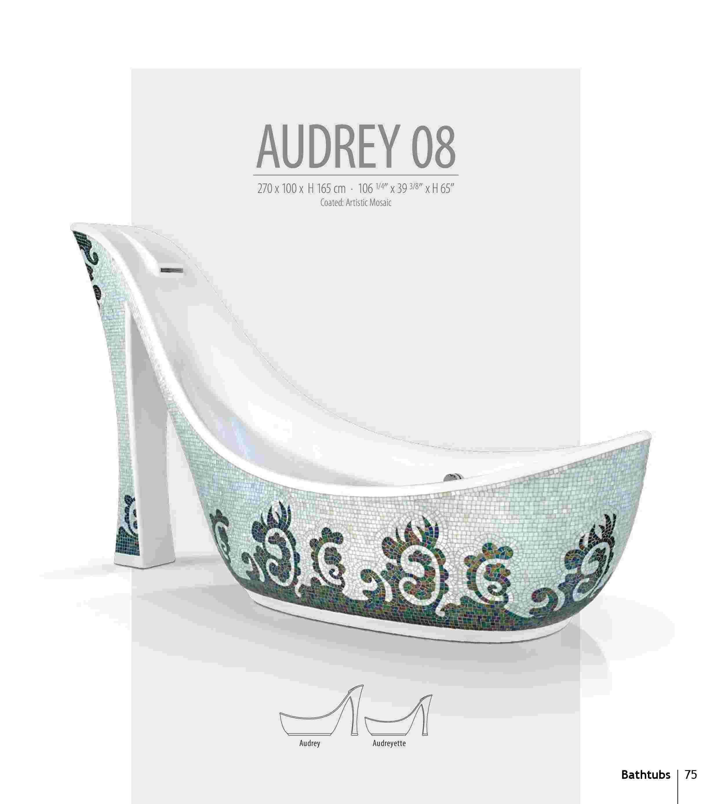 Bồn tắm Audrey