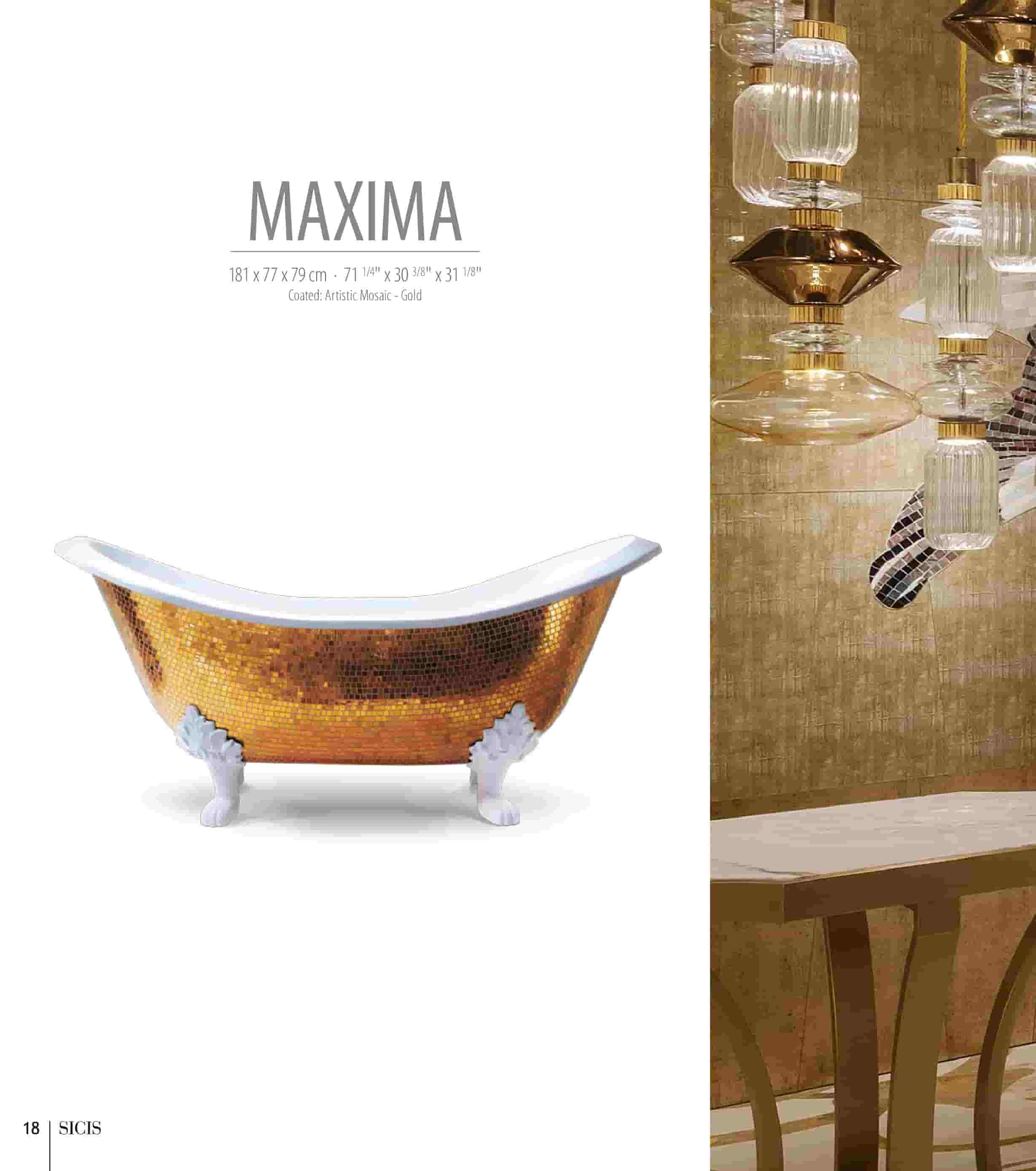 Bồn tắm Maxima