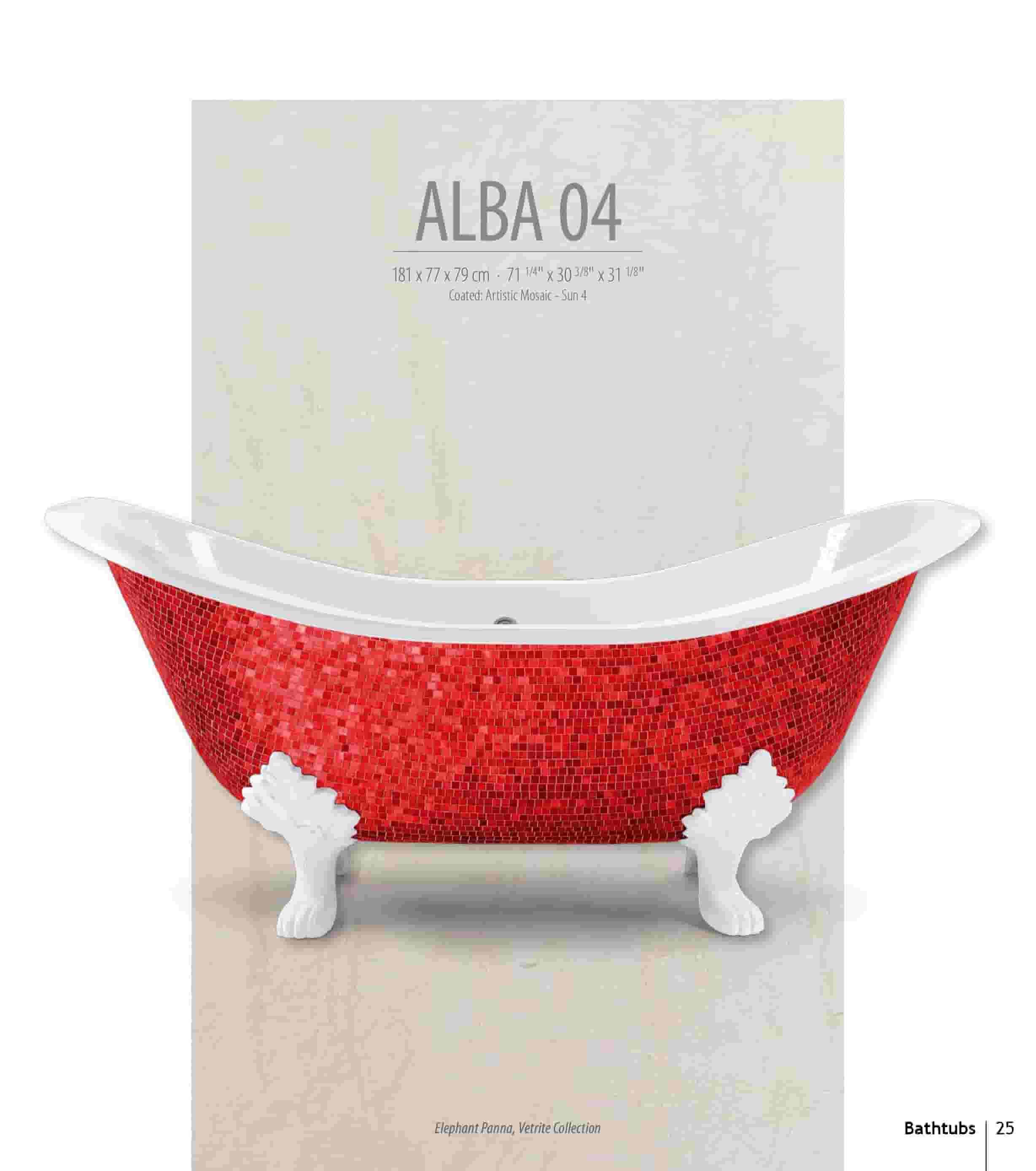 Bồn tắm Alba