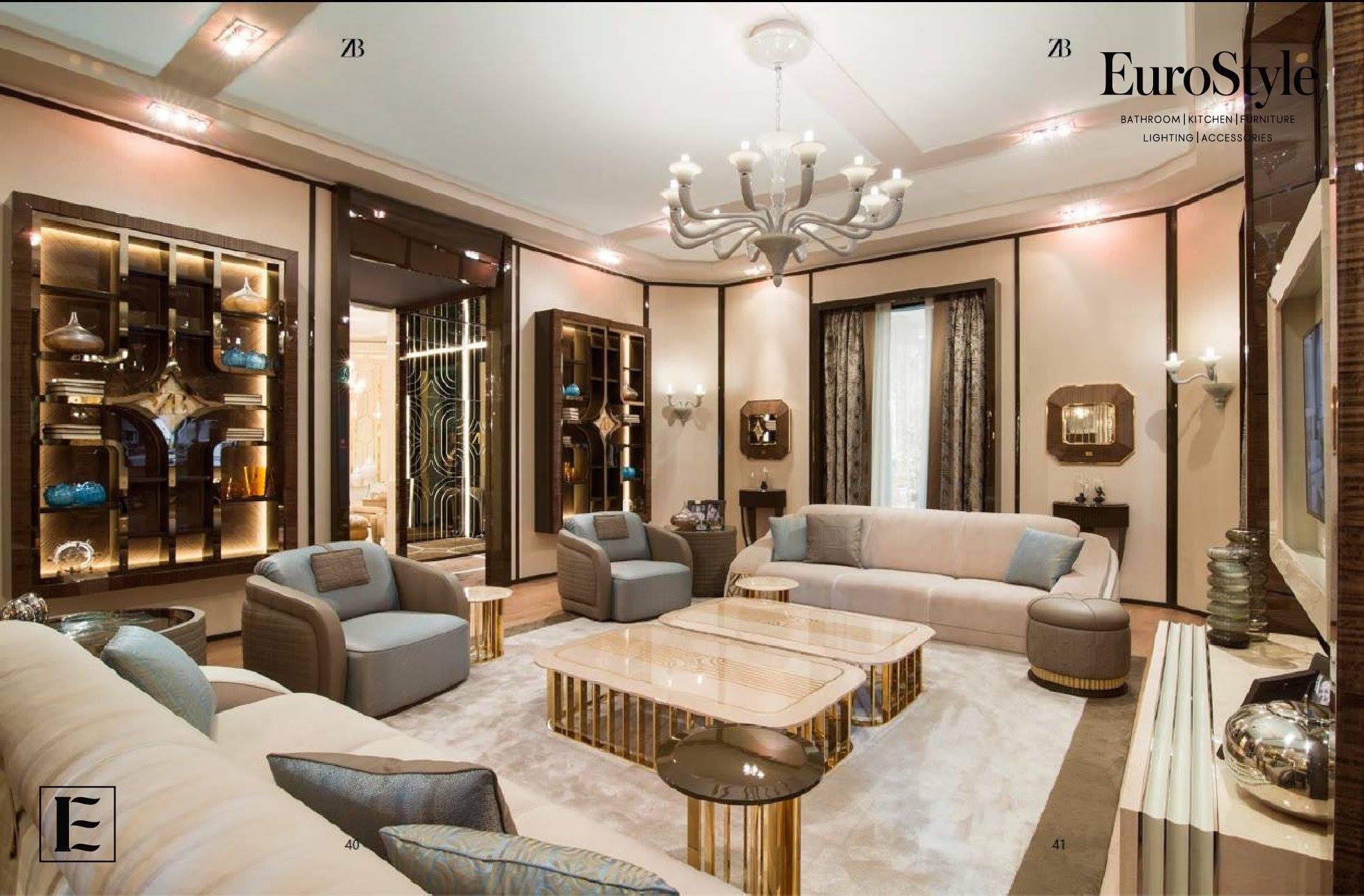 Ấn tượng mẫu Sofa dành cho những căn biệt thự sang trọng