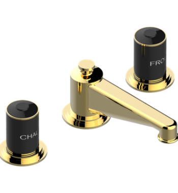 Rim mounted 3-hole basin mixer G2L-151