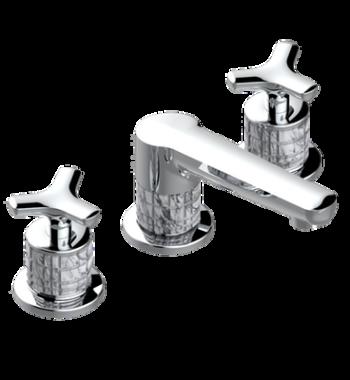 Rim mounted 3-hole basin mixer G9G-151