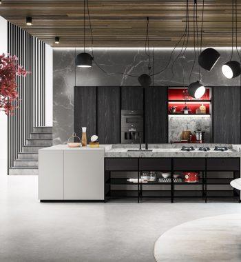 Tủ bếp Amari