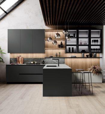 Tủ bếp Menta 03